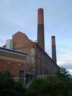 Lots Road Power Station, 23.9.07 © Anne Mayoh 2007