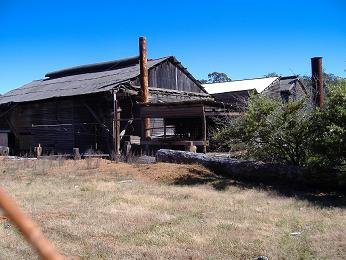 Donnelly River sawmill. © Colin Jenkins