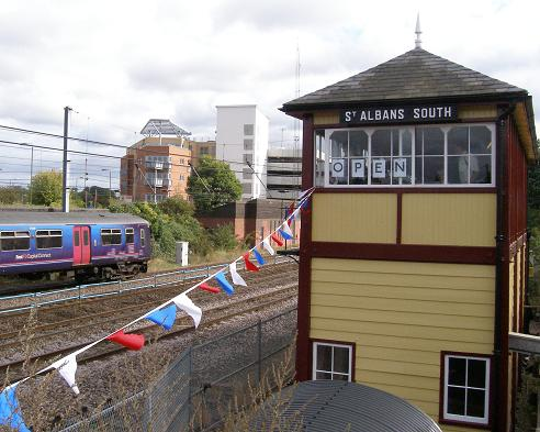St Albans South signal box. � Kate Quinton