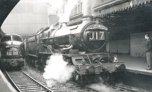 6010 King Charles I at Paddington, 10.30am, 11 February 1961. � Ian Mason