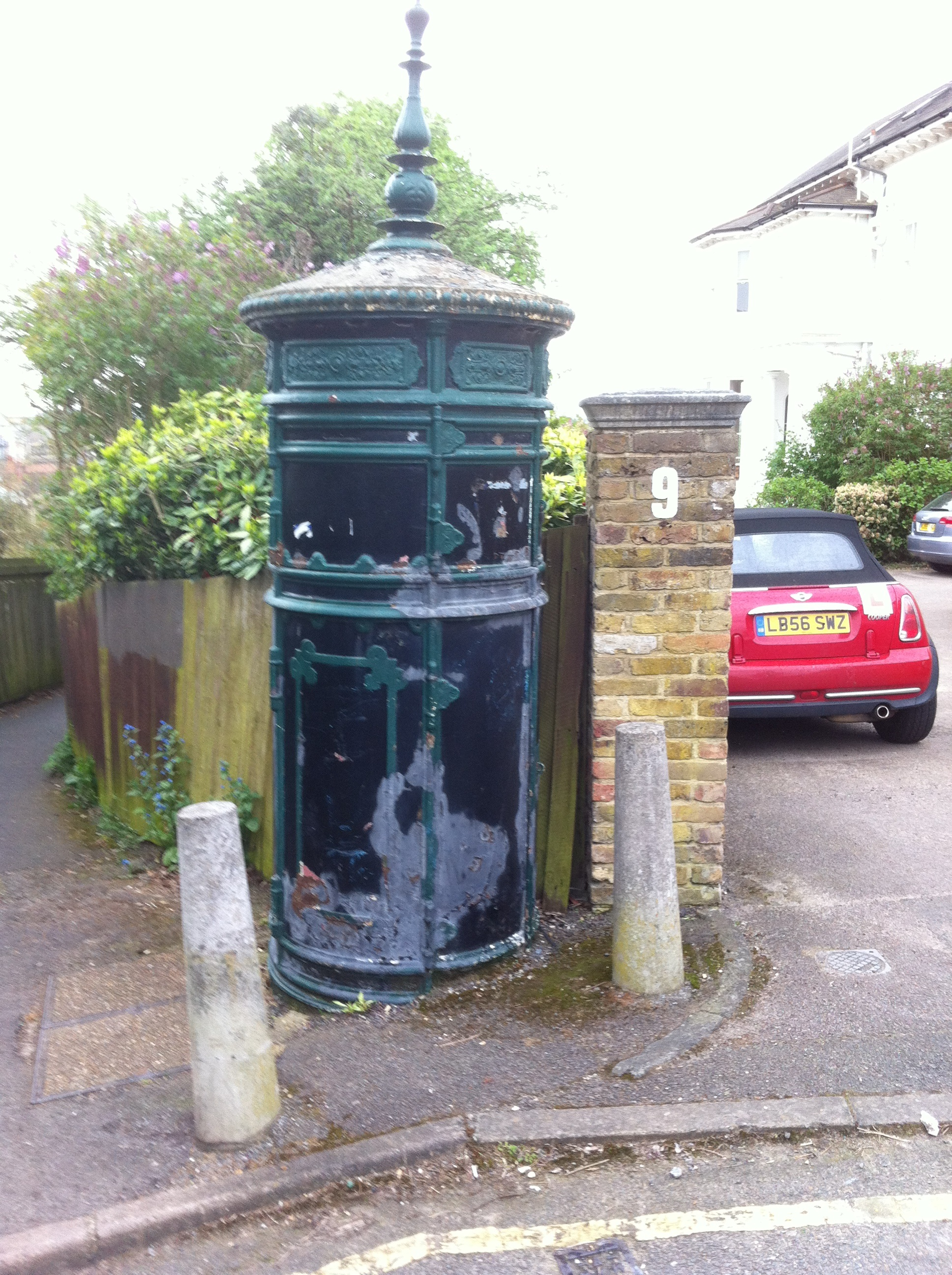 Transformer structure in Wimbledon SW19, at the end of Sunnyside. Nigel Headley