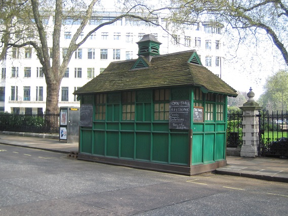 Cabmen's Shelter at Grosvenor Gardens