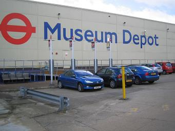 London Transport Museum's 'Depot' at Acton. � Robert Mason