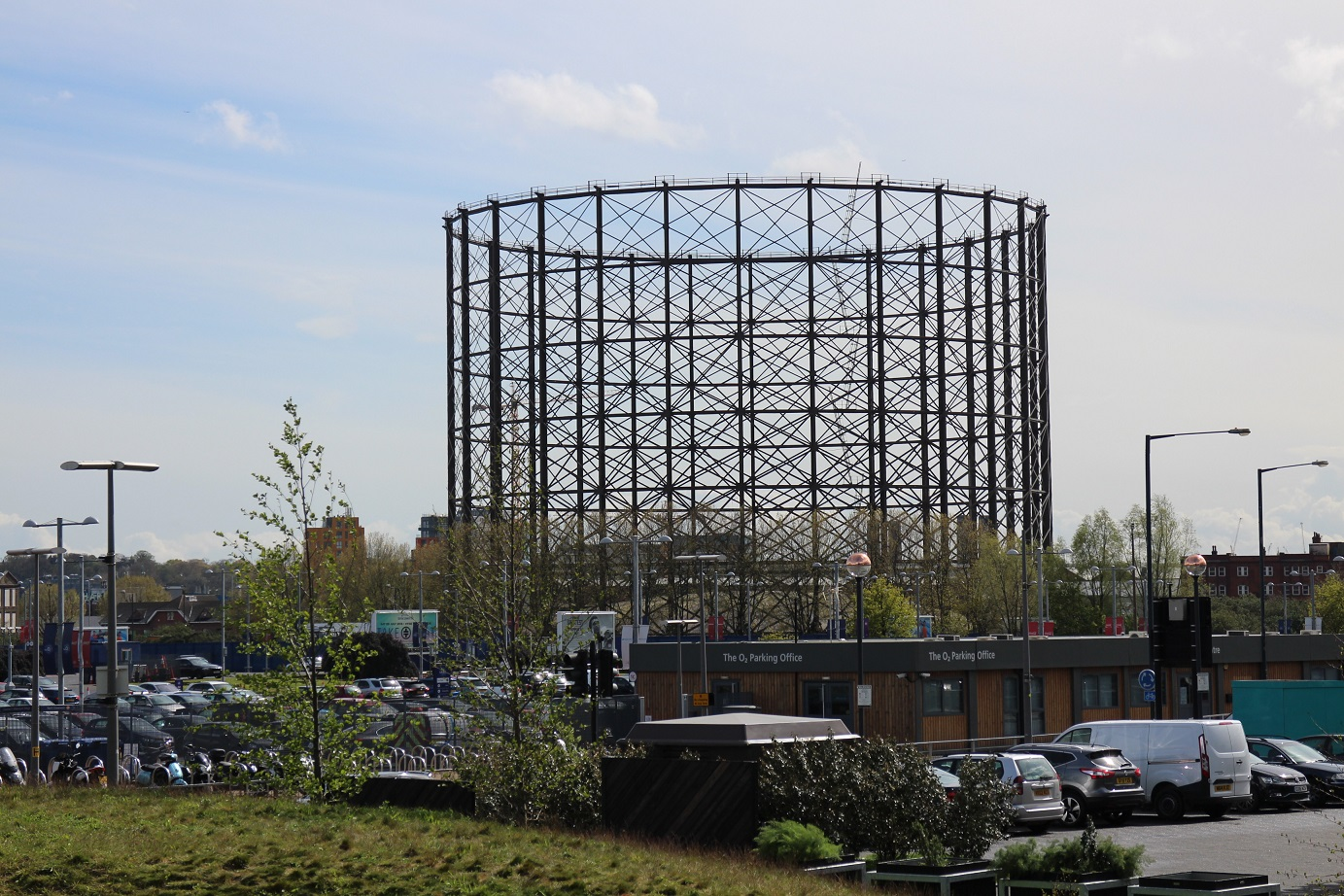 East Greenwich gasholder. © Robert Mason