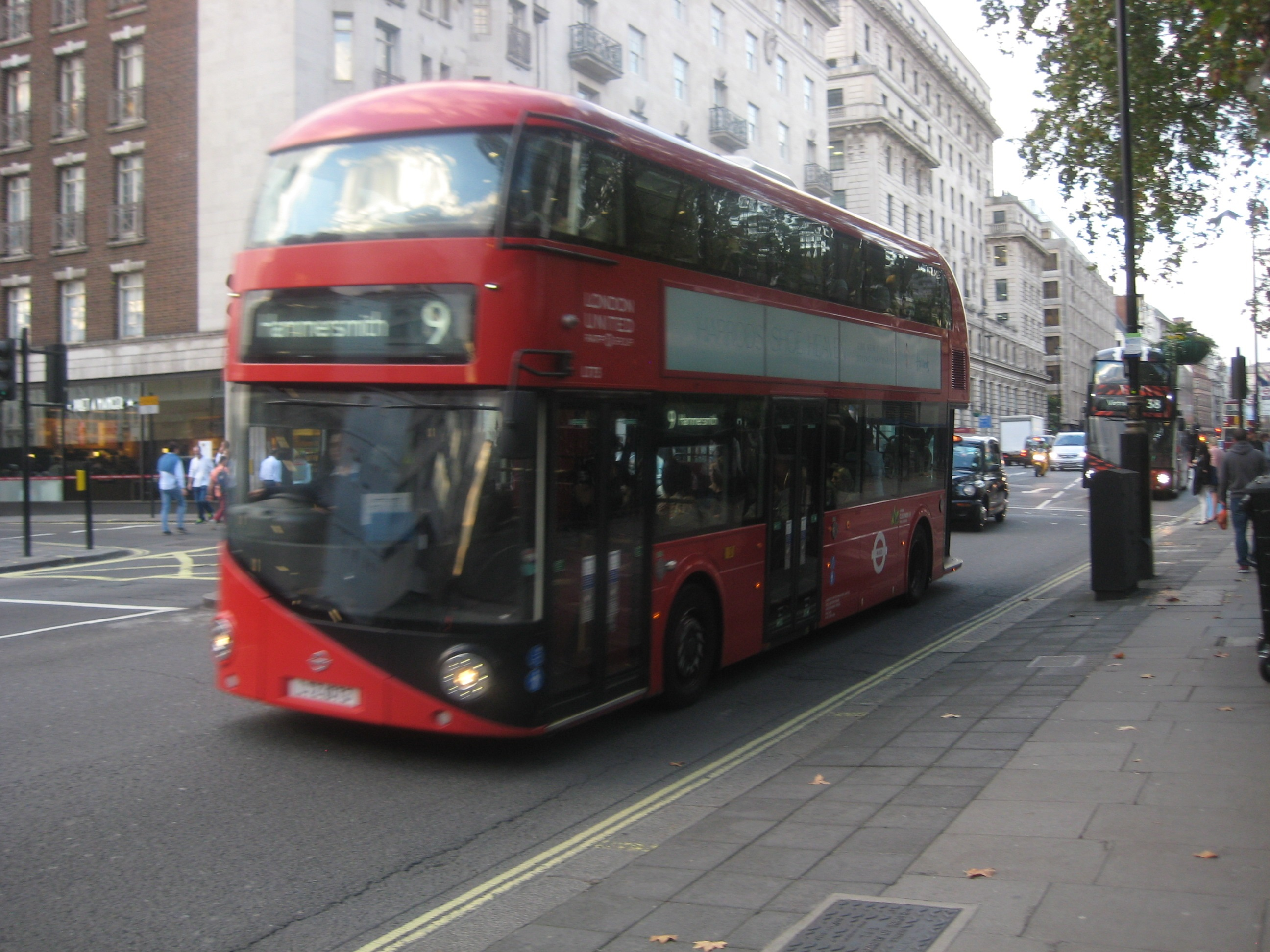 New Routemaster. © Robert Mason, 2.10.14