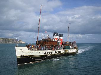 Waverley at Swanage. � Robert Mason
